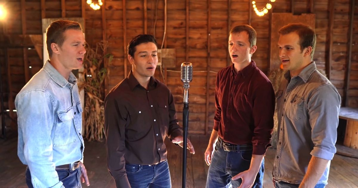 Leaning On The Everlasting Arms cover Redeemed Quartet
