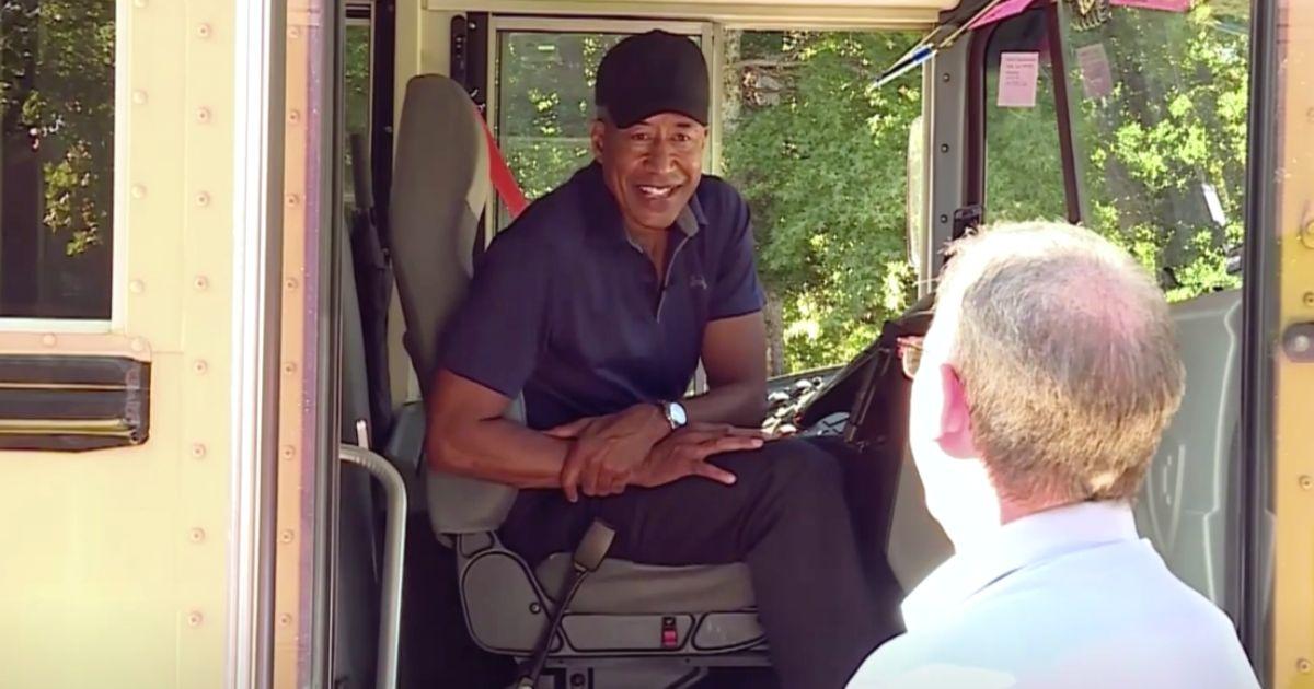 retired fbi bus driver Mike Mason