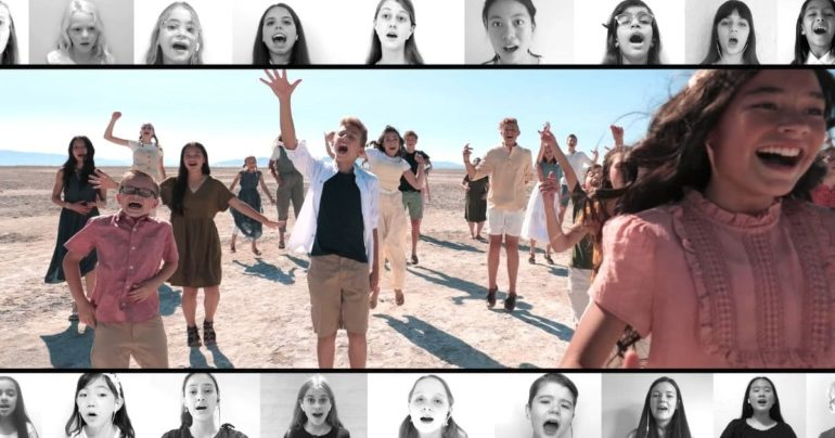 I lived cover one voice children's choir