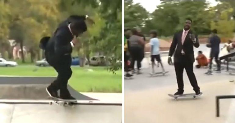 skateboard news reporter