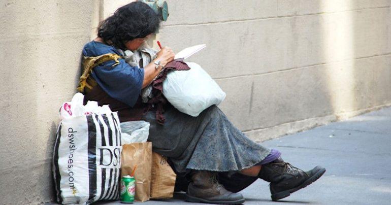 homeless woman kindness