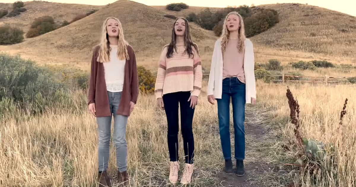 3 Sisters Sing Powerful Rendition Of Anne Wilson's 'My Jesus'