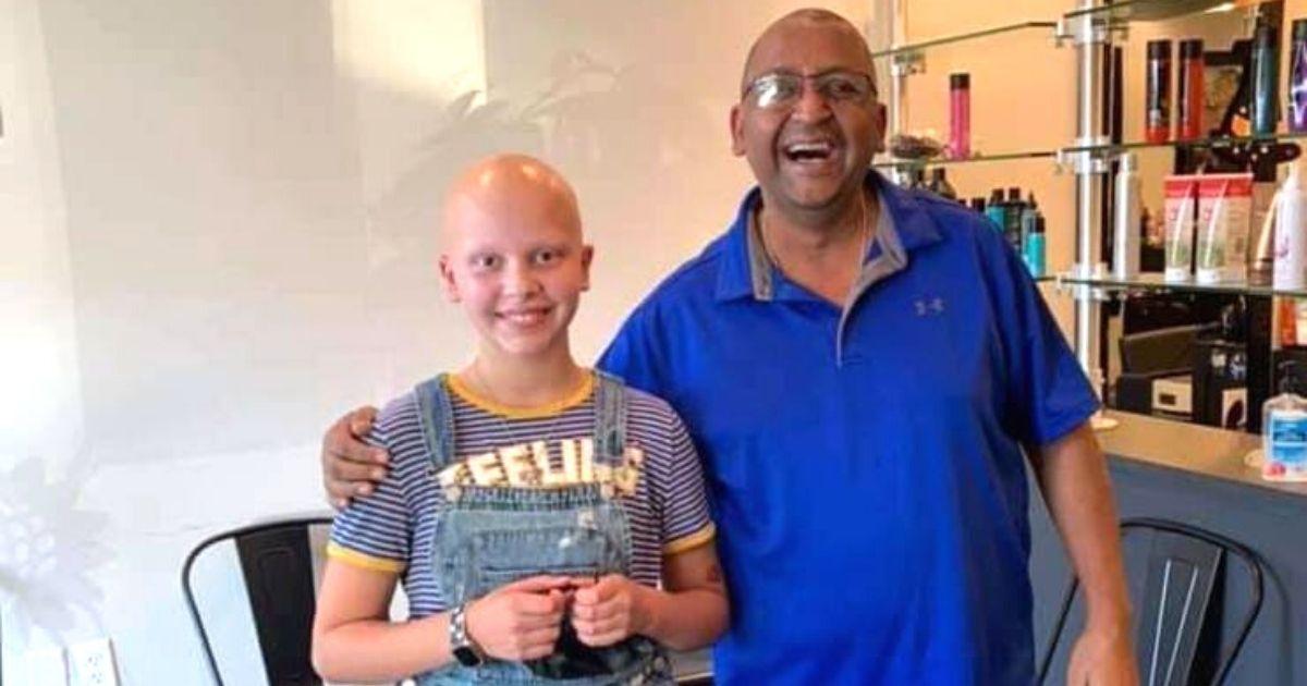 girl with Alopecia