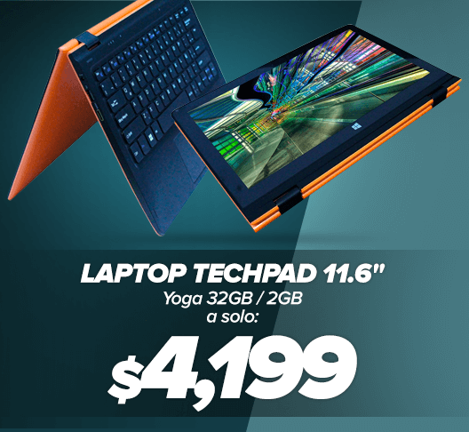Laptop Techpad 11.6