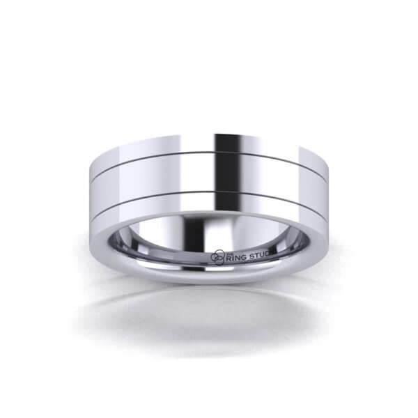 B22 Gentleman's Wedding Ring