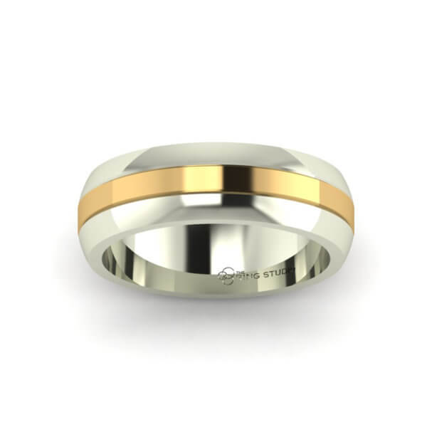 BX02 Gentleman's Wedding Ring