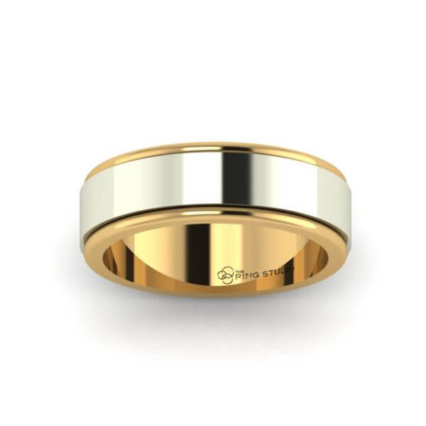 BX03 Gentleman's Wedding Ring
