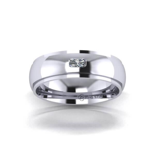 BX07 Gentleman's Wedding Ring