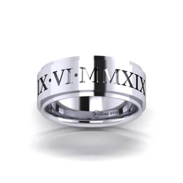 BX12 Gentleman's Wedding Ring