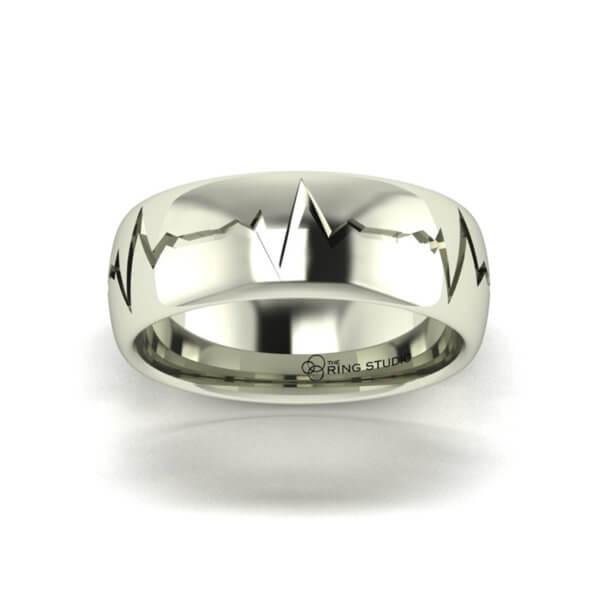 BX13 Gentleman's Wedding Ring