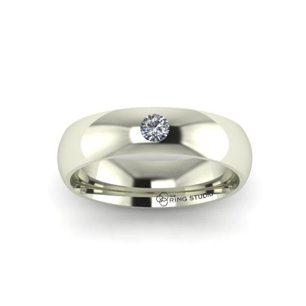 BX14 Gentleman's Wedding Ring