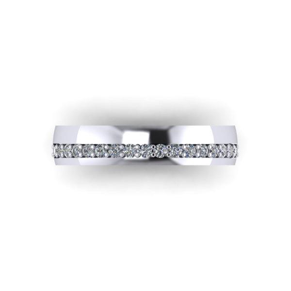 AX08G Ladies Wedding Ring
