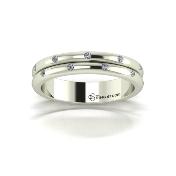 AX25 Ladies Wedding Ring