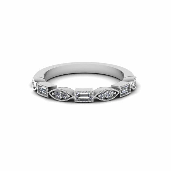 Baguette Petal Ring
