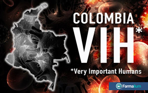 COLOMBIA VIH* (*Very important Humans)