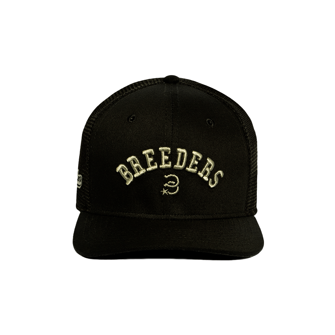 BONÉ BREEDES BLACK