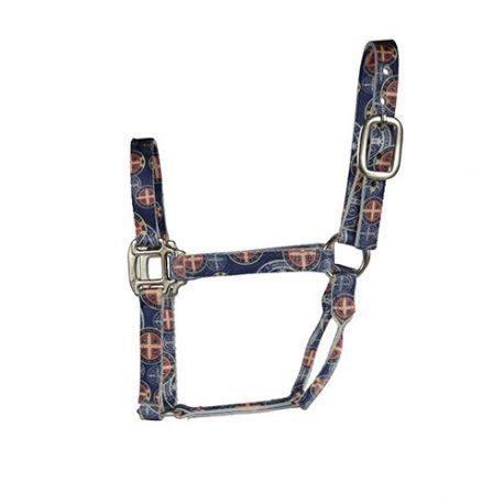Cabresto Boots Horse Medalha de São Bento Azul