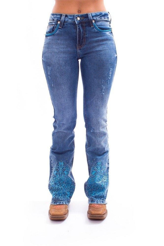 Calça Jeans Ágata Miss Country