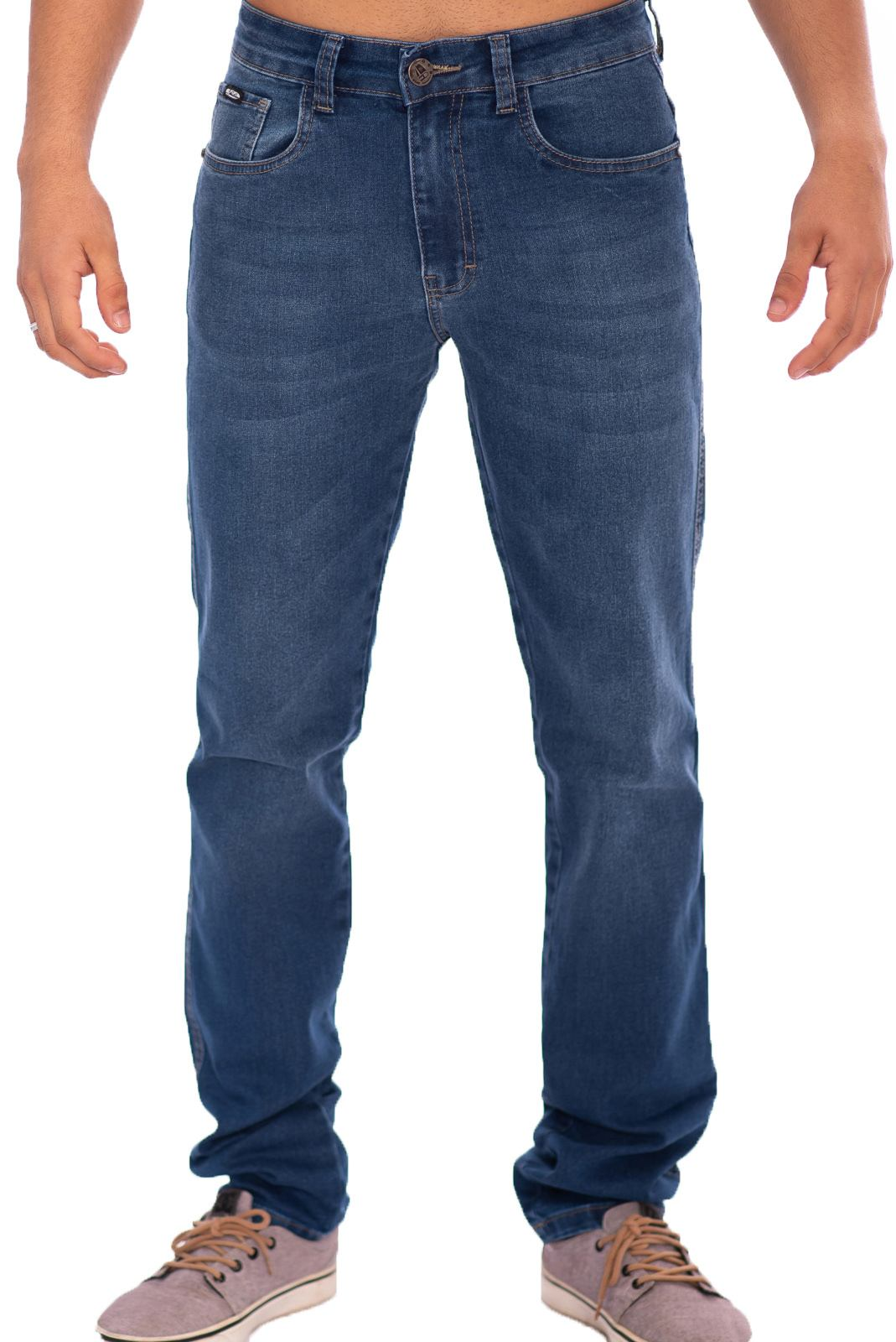 Calça Jeans Masculina Corte Reto Aee Surf