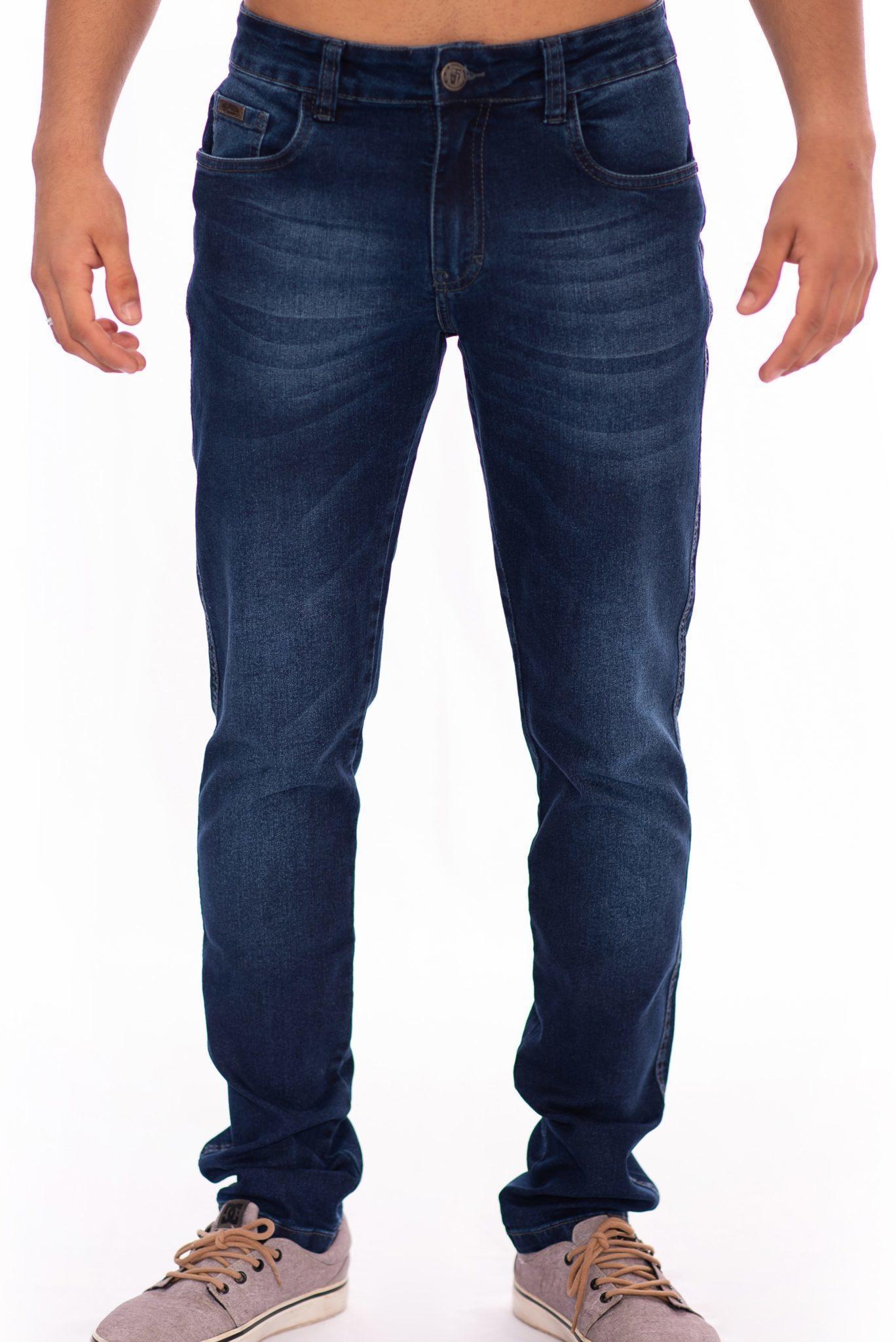 Calça Jeans Masculina Slim Fit Aee Surf
