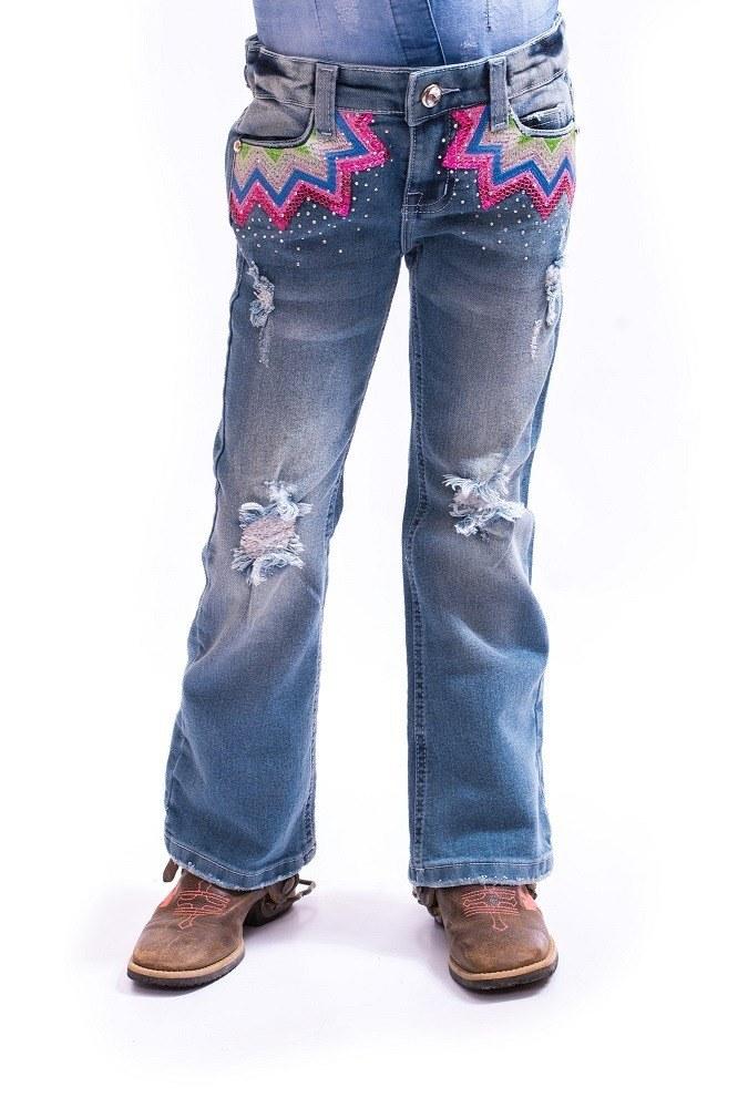 Calça Jeans Rubelita Infantil Miss Country