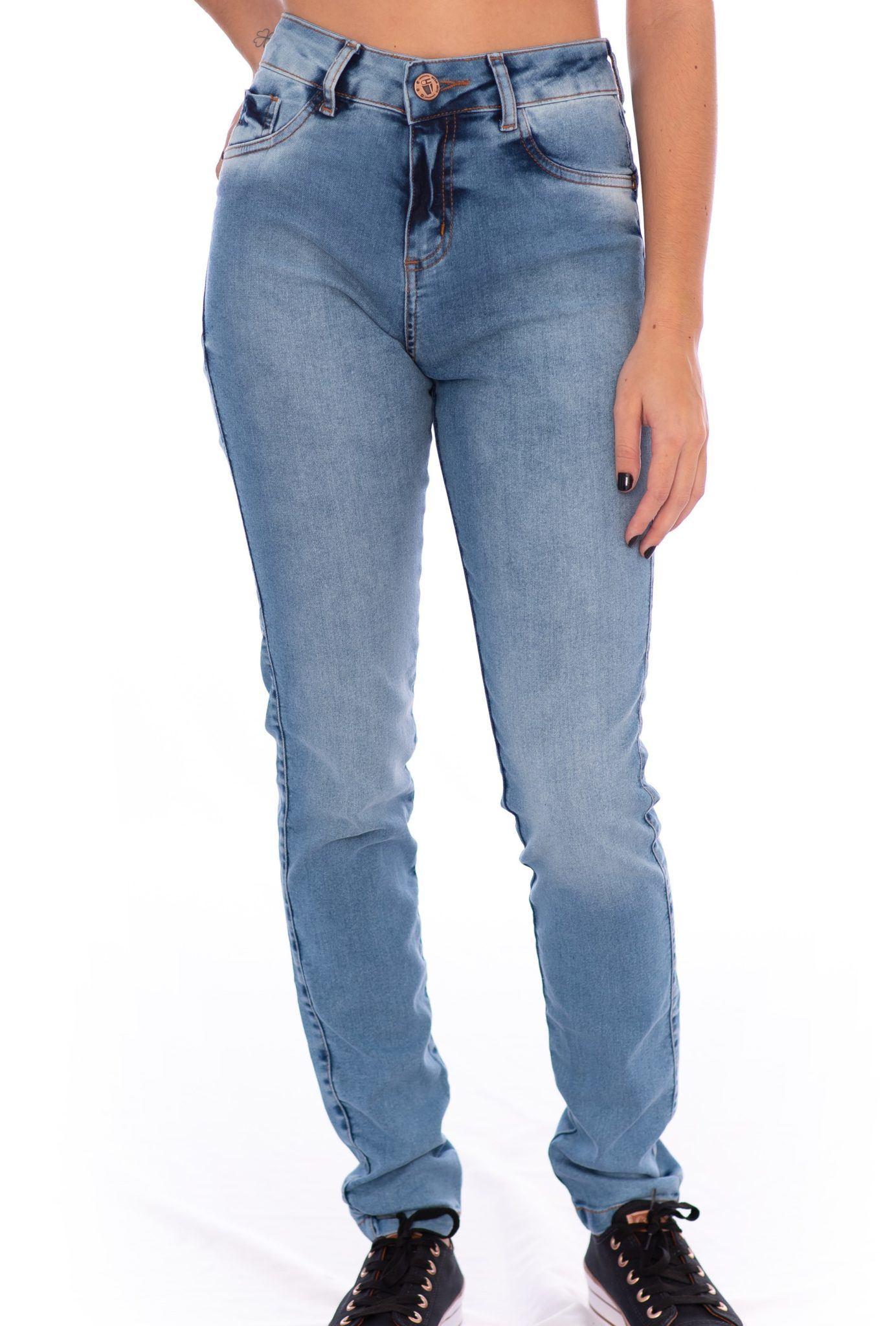Calça Jeans Skinny Feminina Aee Surf
