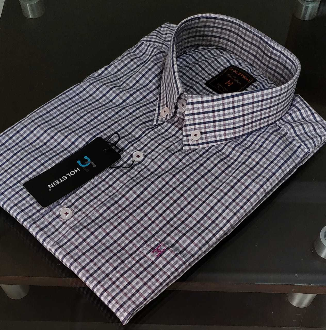 Camisa Manga Curta Holstein.