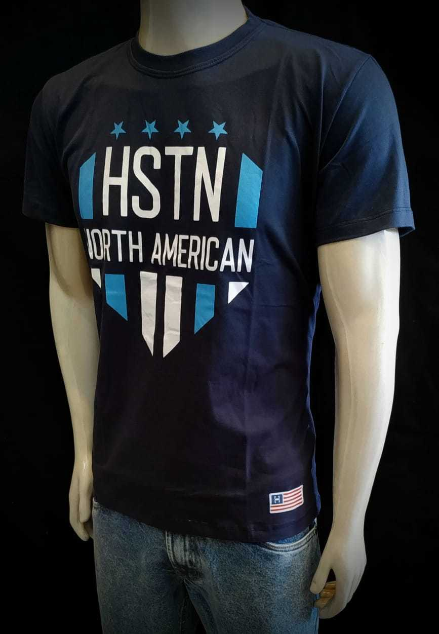Camiseta Azul Holstein