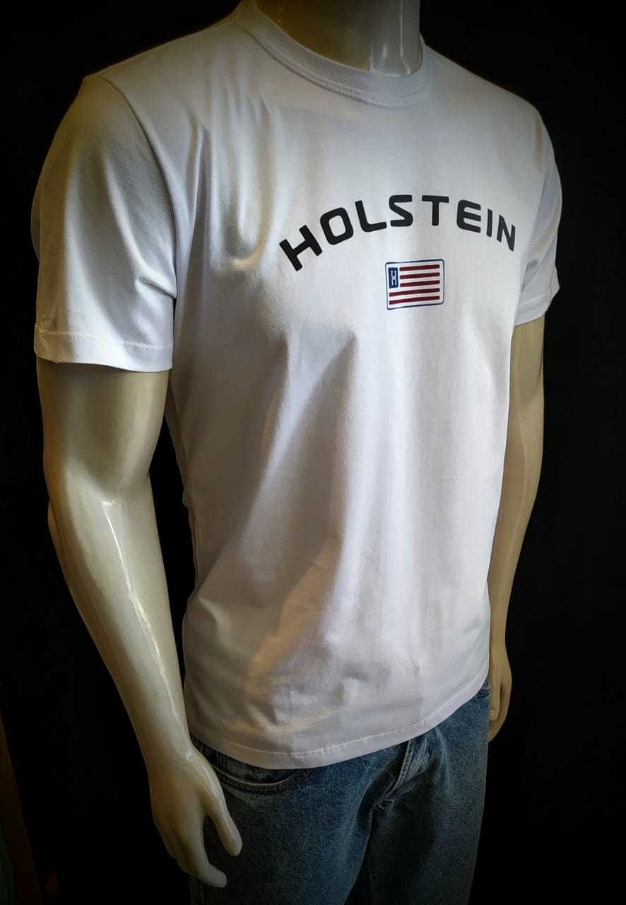 Camiseta Branca Holstein