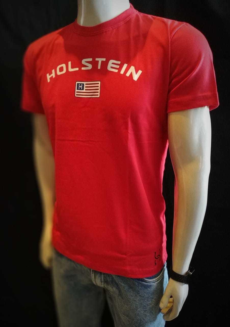 Camiseta Vermelha Holstein