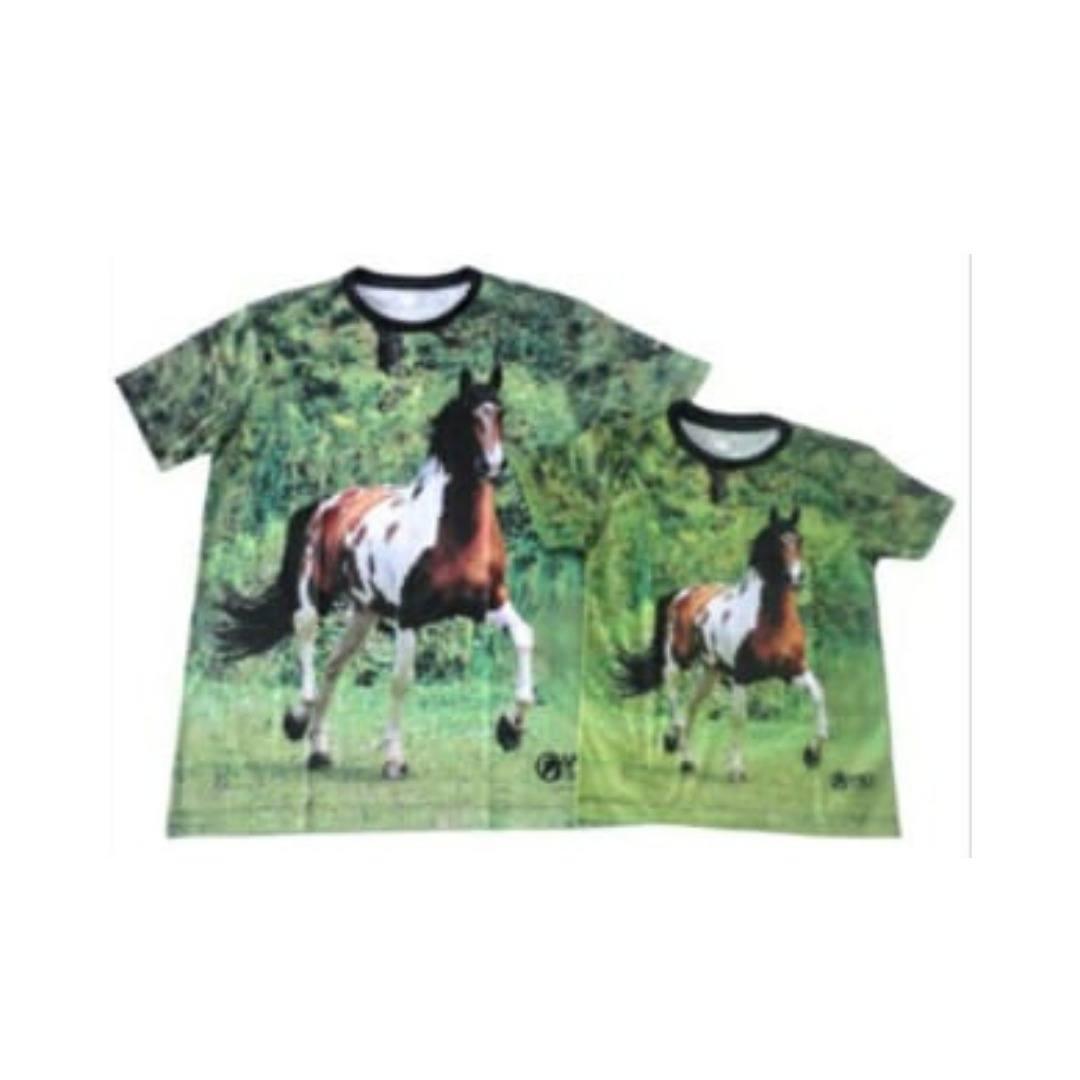 Kit Camisetas Adulto e Infantil WD Confecções