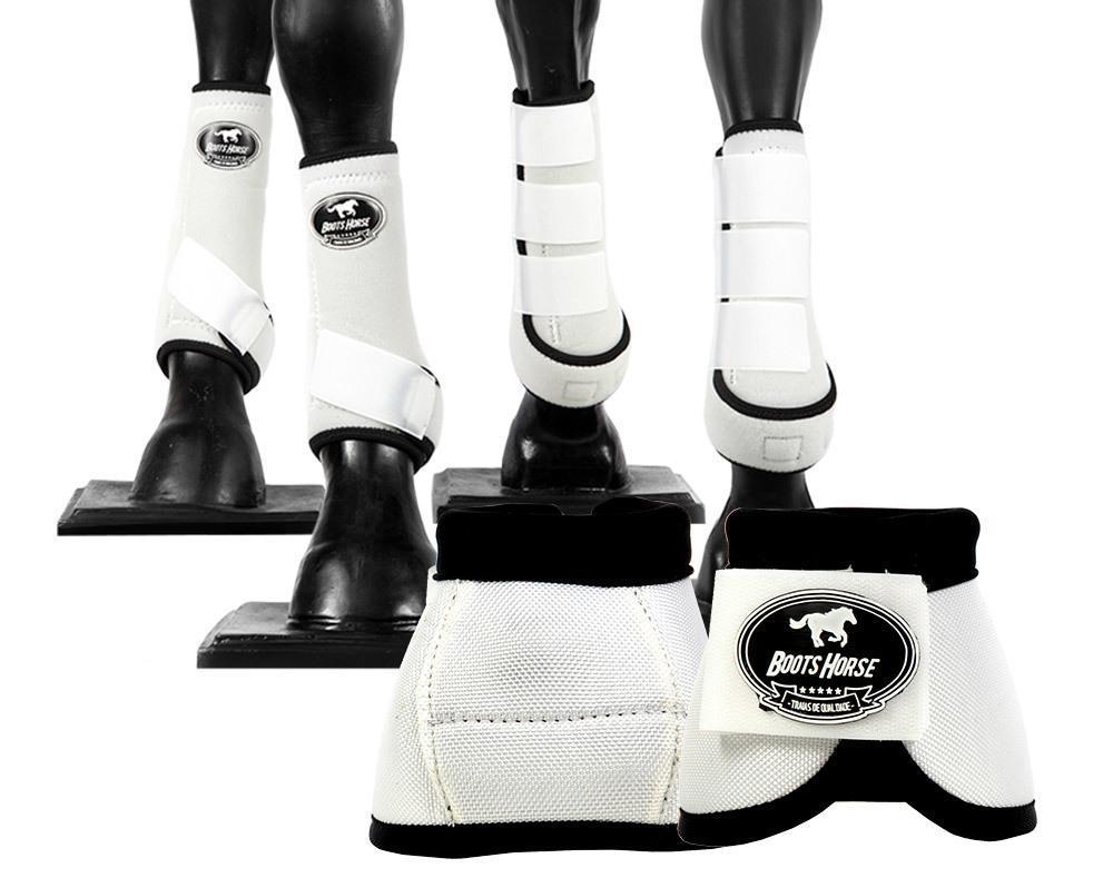 Kit Cloche + Boleteiras Dianteiras e Traseiras Média Boots Horse Color