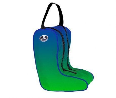 Porta Botas Boots Horse Degrade Azul e Verde