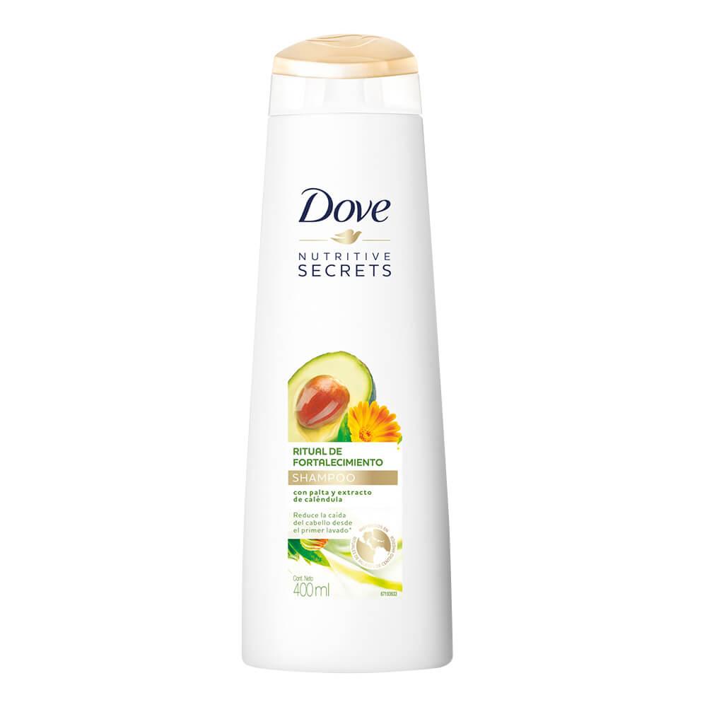 dove shampoo ritual fortal x 400 ml