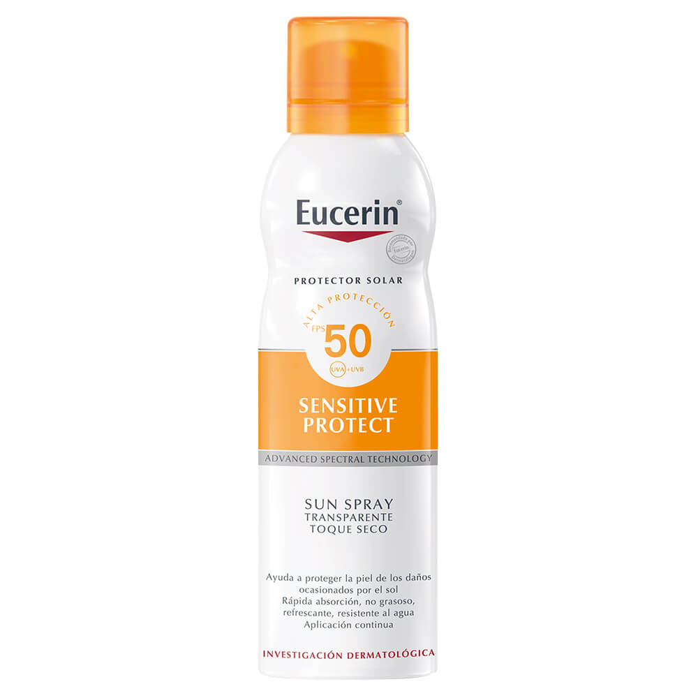 eucerin protector solar spray seco fps 50 x 200 ml