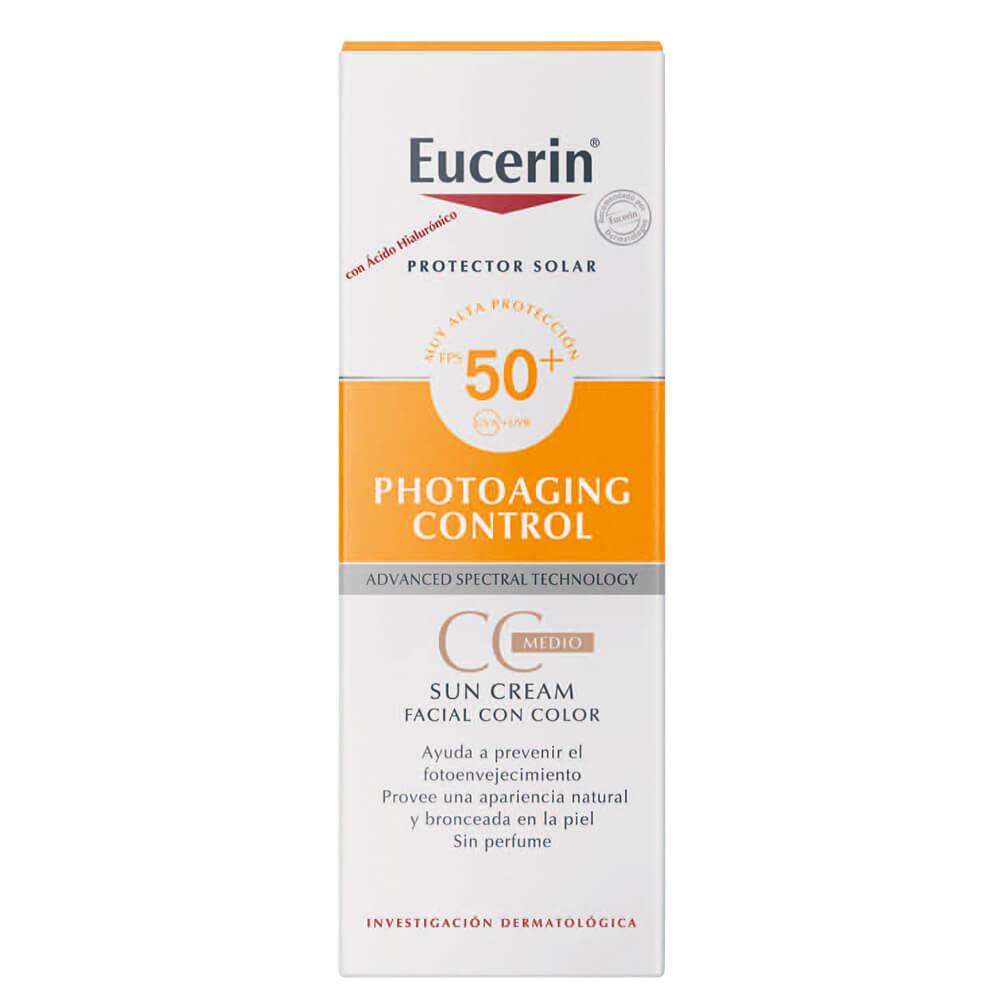 eucerin protector solar tono medio fps 50 x 50 ml