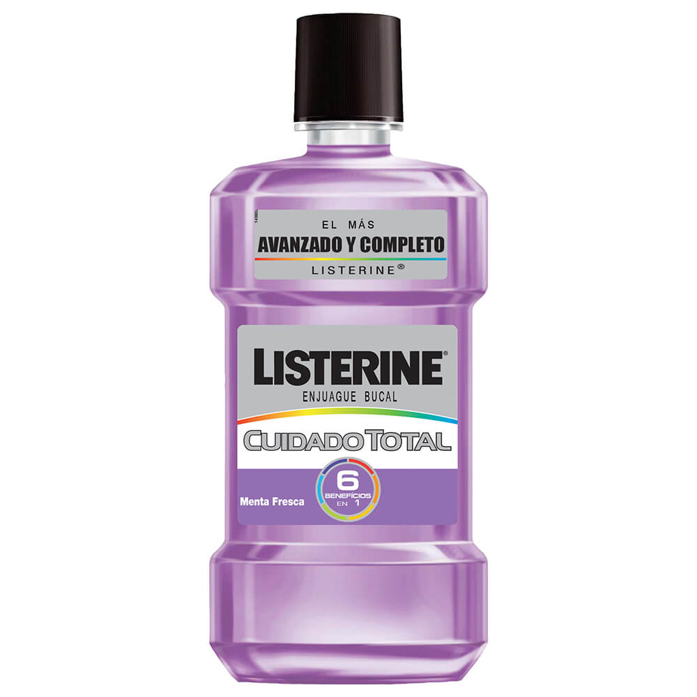 Listerine enjuague bucal cuidado total x 500 ml