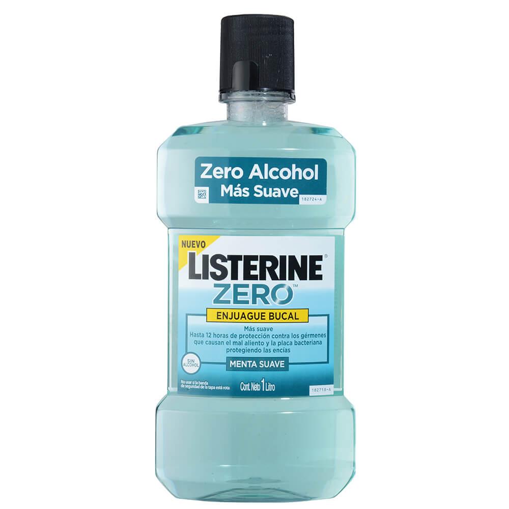 listerine enjuague bucal zero x 1000 ml