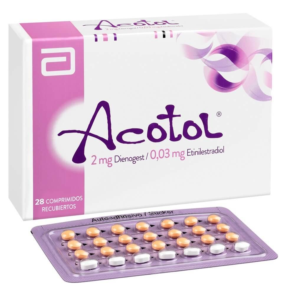 acotol x 28 comprimidos recubiertos