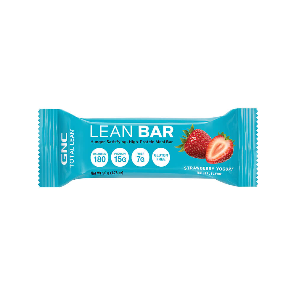 lean bar fresa y yogurt 50 g x 1 unidad