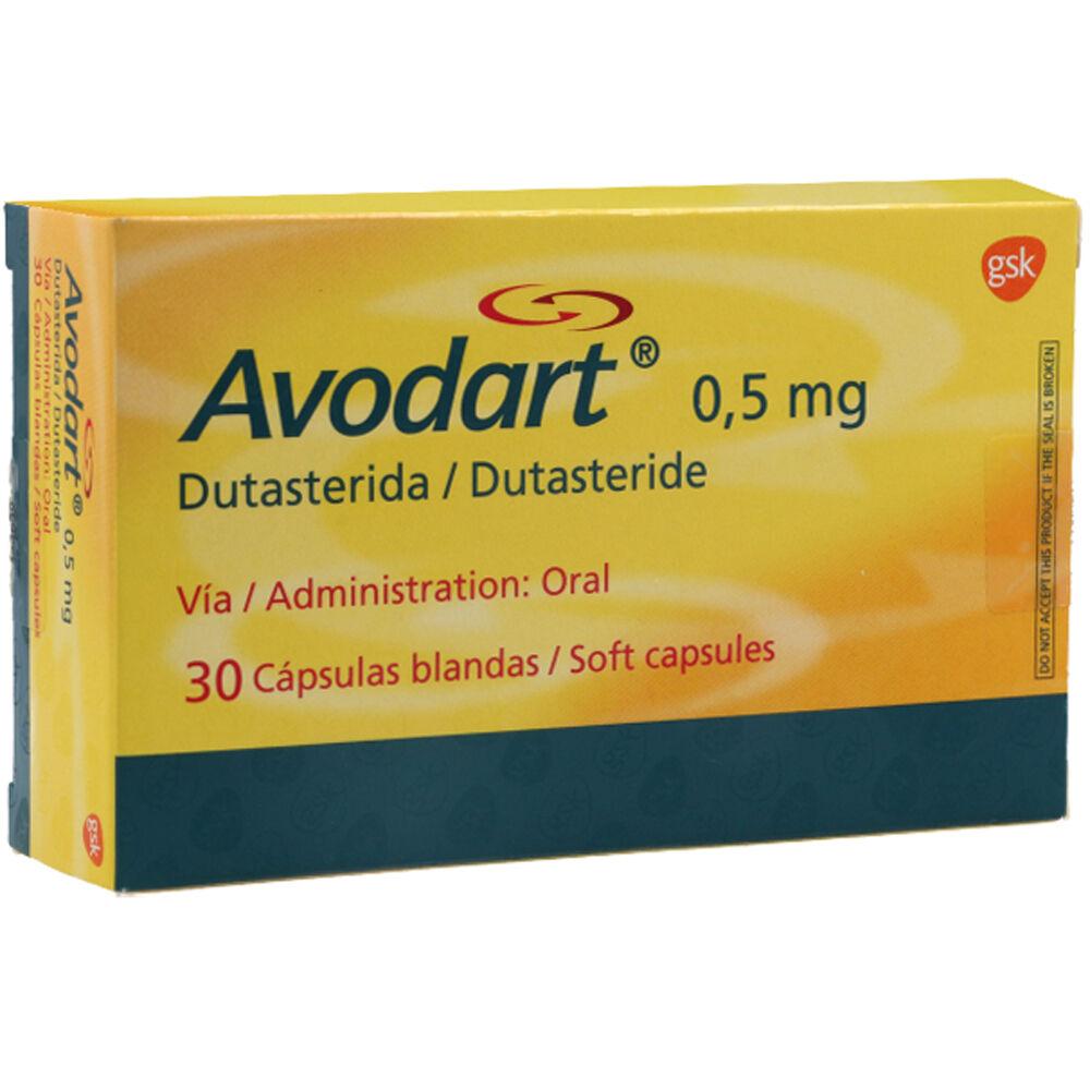 avodart 0,5 mg x 30 capsulas blandas