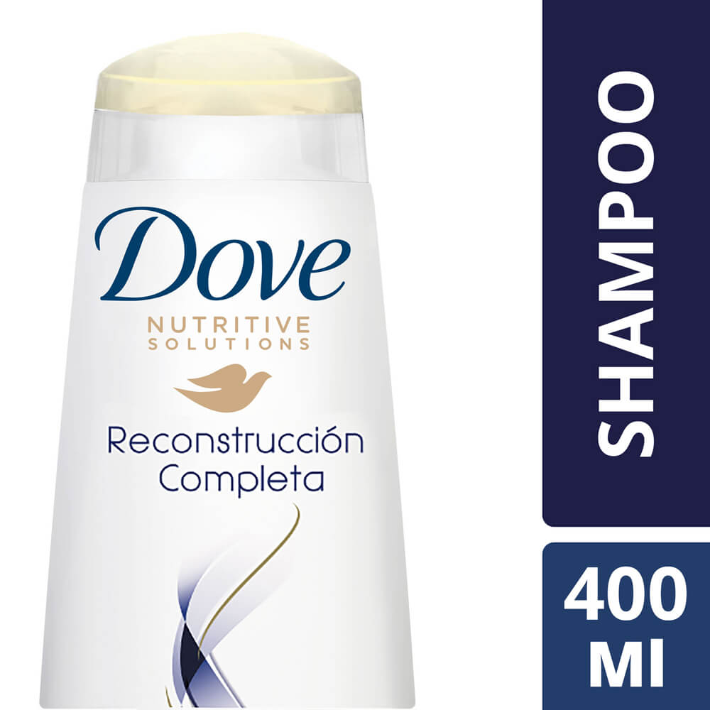 dove shampoo reconstruccion completa x 400 ml