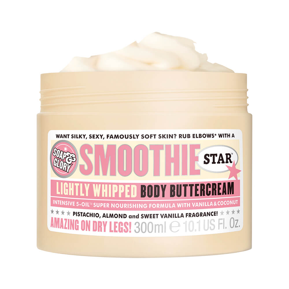 soap & glory crema body butter smoothie star x 300 ml
