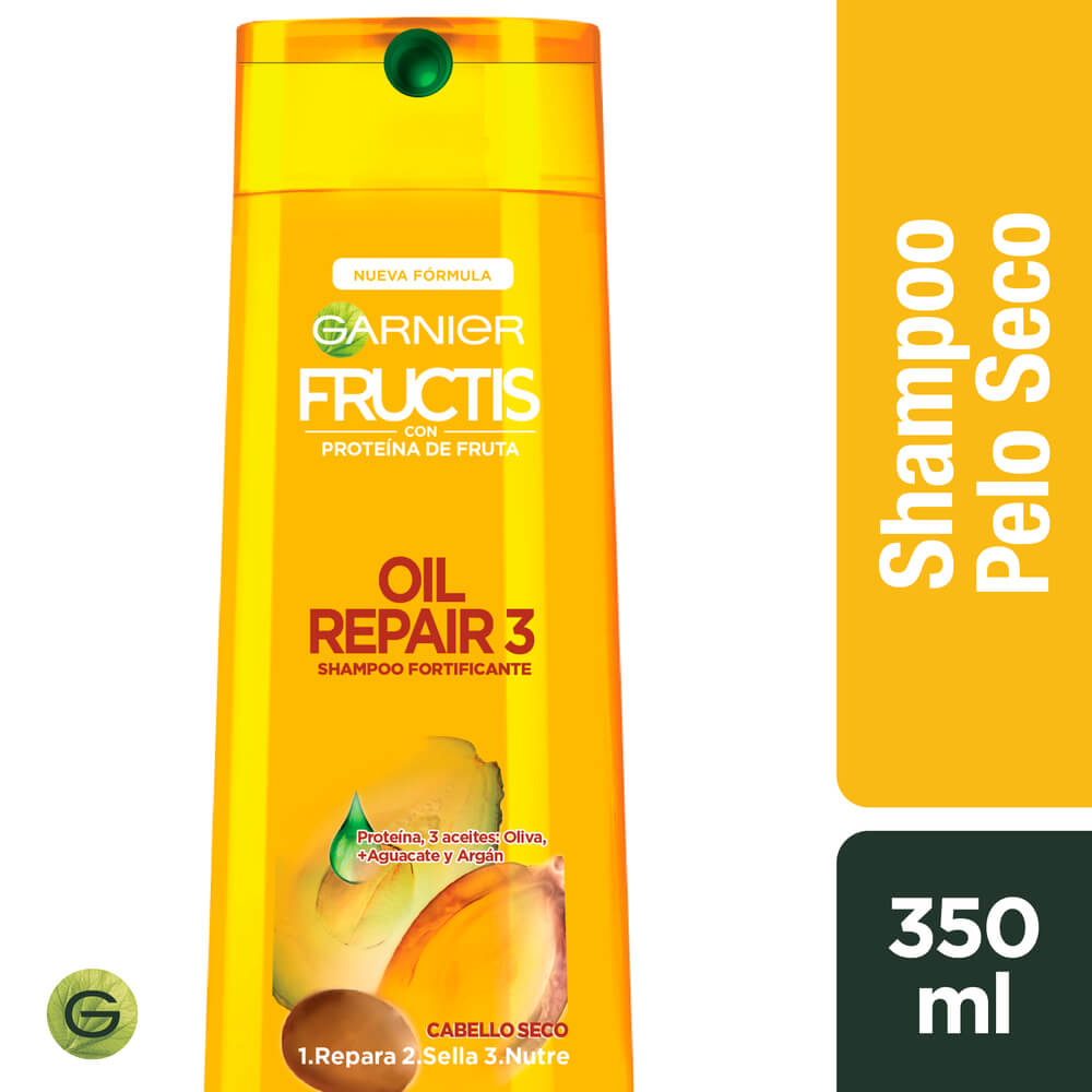 fructis shampoo oil repair x 350 ml