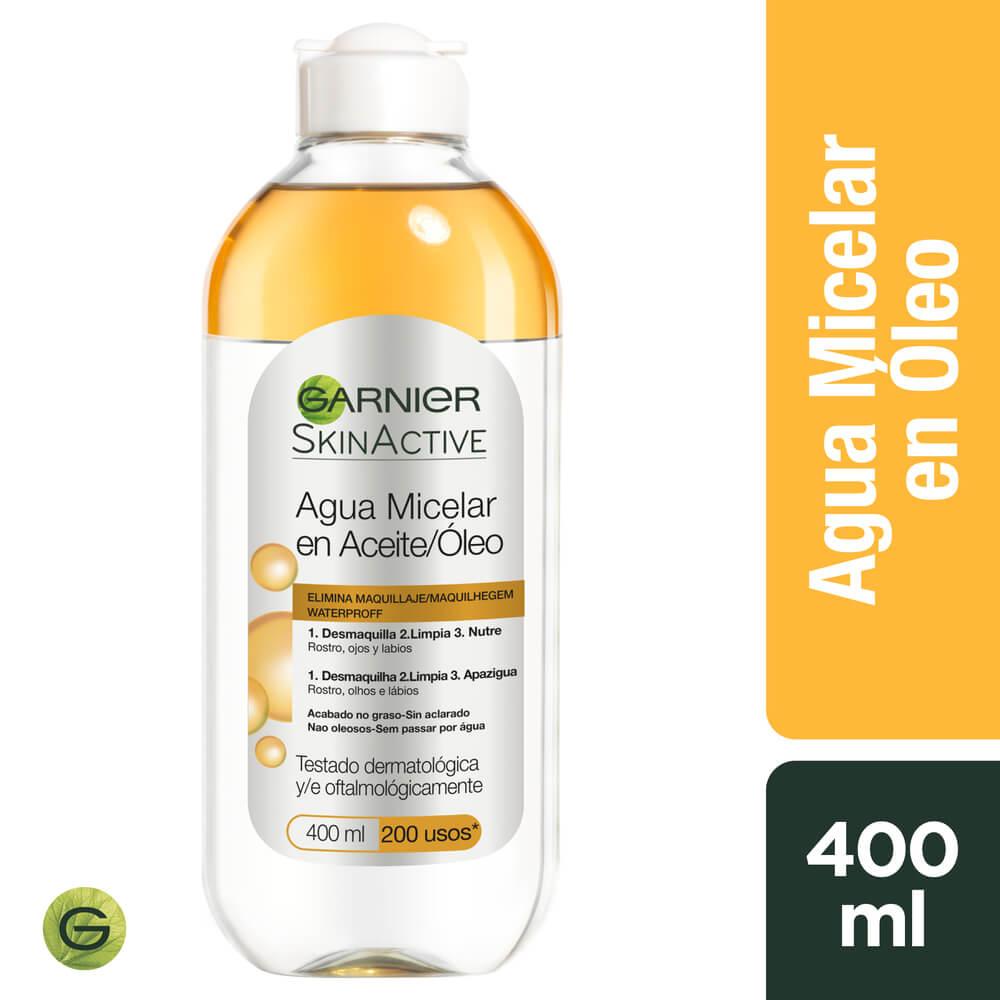 garnier loción micelar en aceite x 400 ml