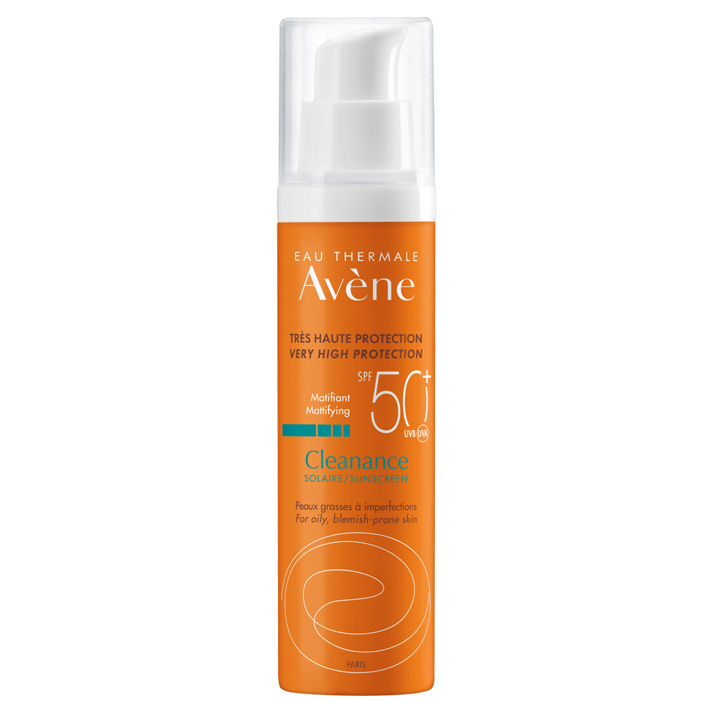 avene protector solar cleanance spf 50+ pieles grasas con imperfecciones x 50 ml