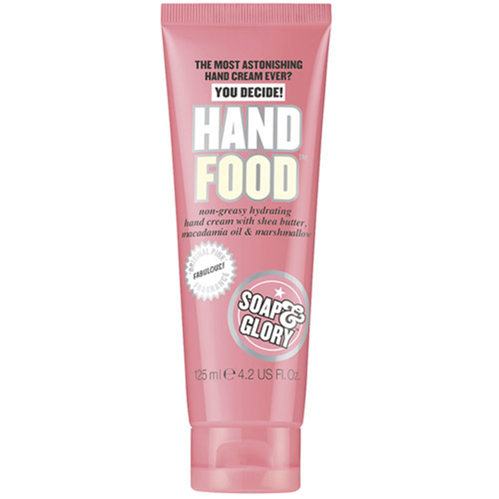 soap & glory crema manos hand food x 125 ml