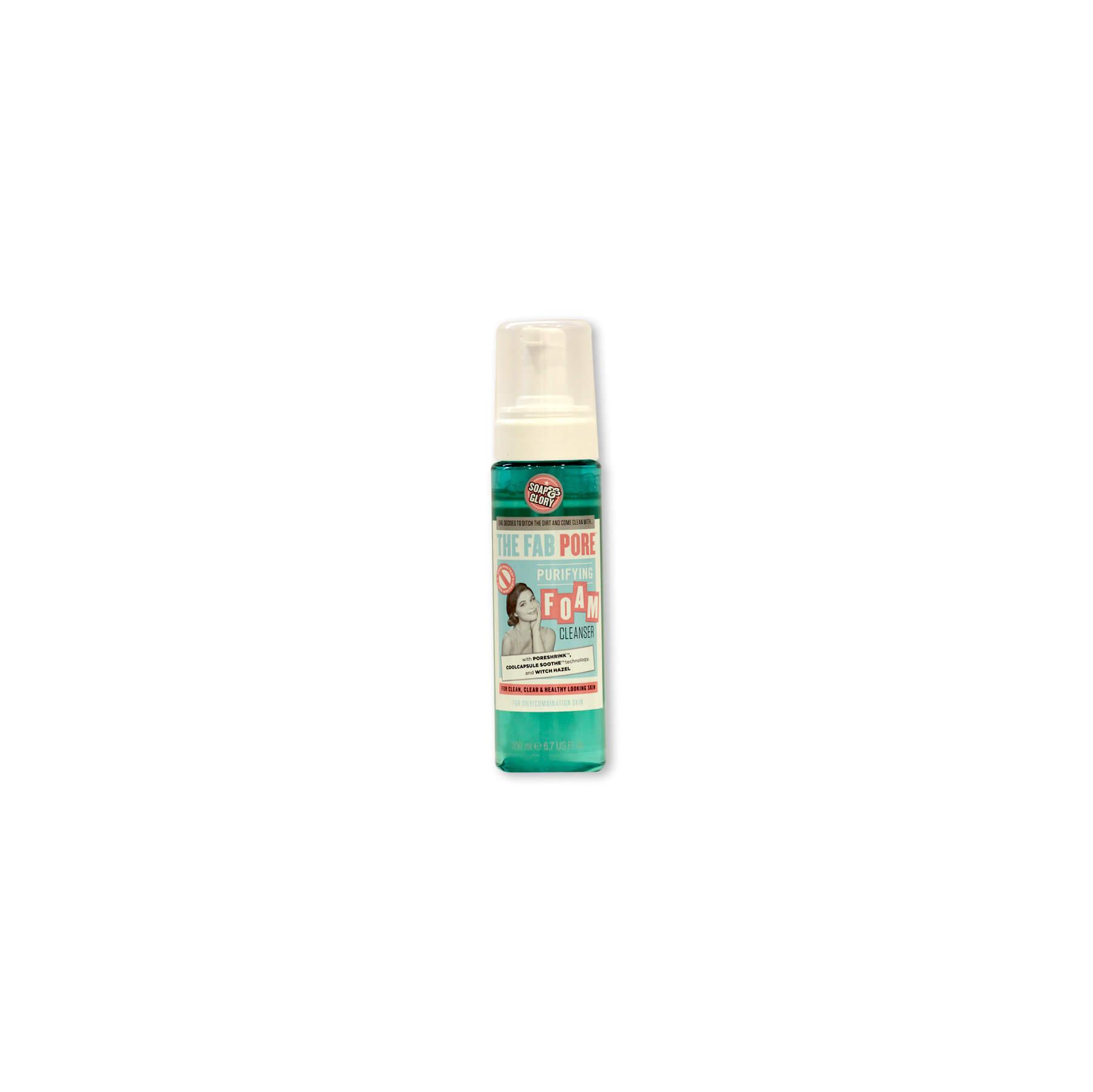 soap & glory espuma de limpieza facial the fab pore x 1 unidad