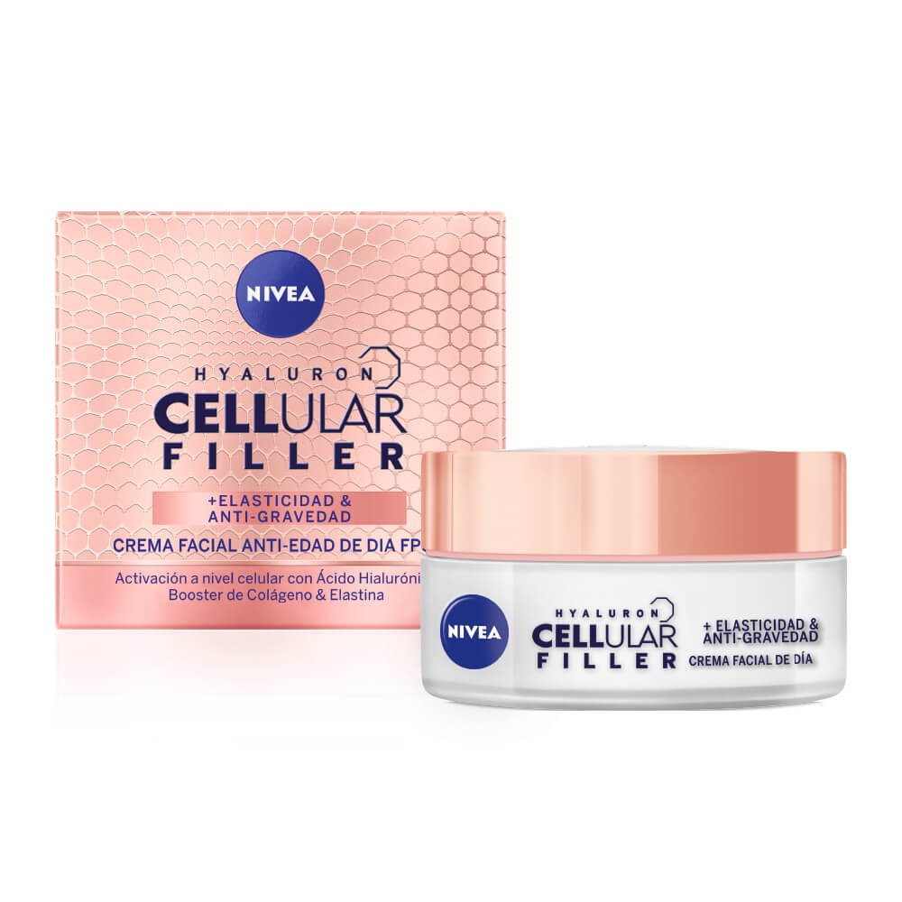 nivea crema hyaluron cellular filler día x 50 ml