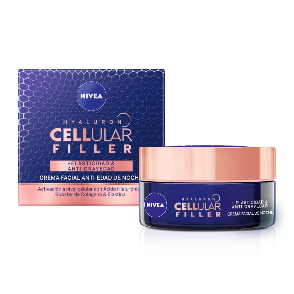 nivea crema hyaluron cellular filler noche x 50 ml